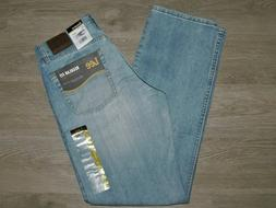 LEE Regular Fit Jeans Straight Leg Classic Waist Wicked Blue