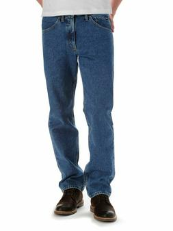 regular fit straight leg jean