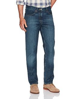 LEE Men's Regular Fit Straight Leg Jean, Silo 29W x 34L