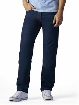 Lee Men's Regular Fit Straight Leg Jean, Pepper Prewash, 33W