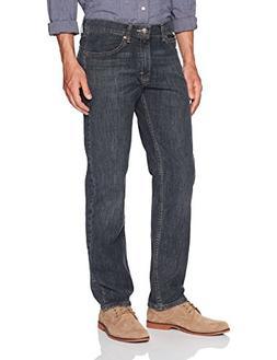 LEE Men's Regular Fit Straight Leg Jean, Anaconda, 36W x 32L