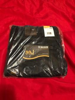 Lee Men's Regular Fit Straight Leg Jean, Pepper Prewash, 33W