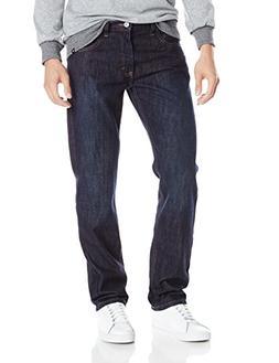 Dickies Men's Regular Straight 5-Pocket Jean, Heritage Dark