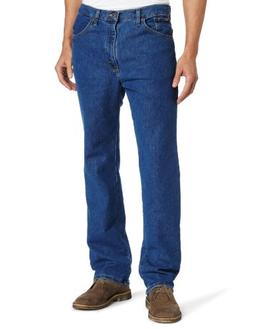 Lee Men's Big-Tall Regular Fit Straight Leg Jean, Pepper Was