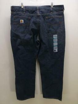 CARHARTT Relaxed Fit 101483-968 blue denim Jeans work chore