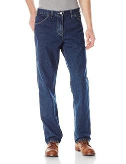 Dickies Men's Relaxed Fit 5-Pocket Washed Jean, Tinted Herit