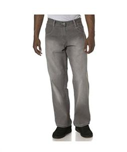 Southpole Men's Relaxed Fit Denim Jeans, Grey Sand, 36X30