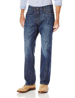 IZOD Men's Classic Denim Jeans , Medium Vintage, 42x30