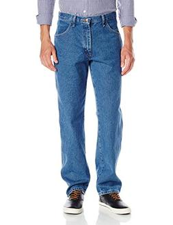 Maverick Men's Relaxed Fit Jean, Vintage Stonewash, 40x34