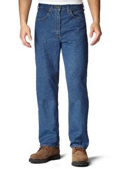 Carhartt Men's Relaxed Fit Jean Straight Leg,Dark Stone ,32