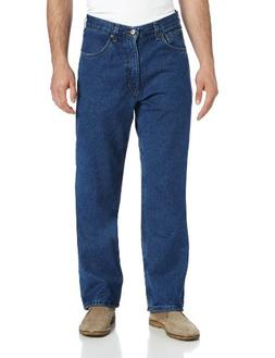 Carhartt Men's Relaxed Fit Straight Leg Fleece Lined,Darksto