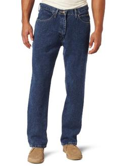 Lee Men's Relaxed Fit Straight Leg Jean, Medium Stone, 34W x