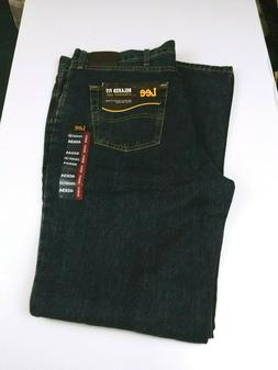 Lee Relaxed Fit Straight Leg Men Jeans Size 40x34 Blue Wash
