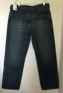 CALVIN KLEIN RELAXED STRAIGHT FIT MEDIUM WASH JEANS SIZE 38x