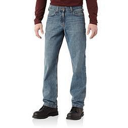 Carhartt Men's Relaxed Straight Leg Five Pocket Jean,Pioneer