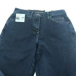 Lee Relaxed Straight Leg Jeans - Medium Length 6, Premium Da