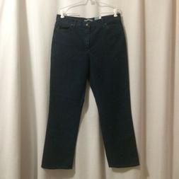 Lee Relaxed Straight Leg Jeans - Medium Length 14, Premium D