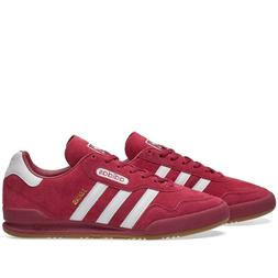 RETRO ADIDAS ORIGINALS JEANS SUPER TRAINERS - RUBY RED - BY9
