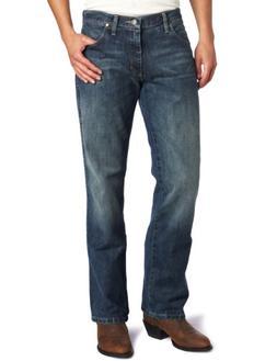 Wrangler Men's Retro Slim Fit Boot Cut Jean, River Wash,  38