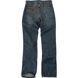 e78bdada Wrangler Men's Retro Slim Fit Boot Cut Jean, River Wash, ...