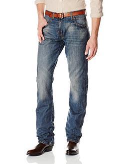Wrangler Men's Retro Slim Fit Straight Leg Jean, Dark Knight