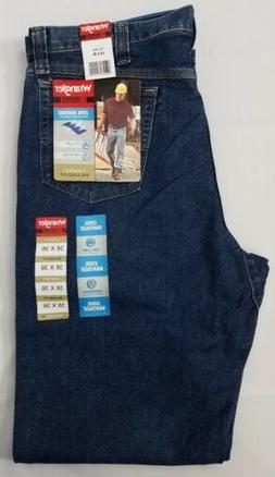 Wrangler Riggs Cool Vantage 5 Pocket Relaxed Fit Jeans. Men'