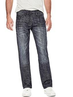 GUESS Factory Men's Men's Rowland Relaxed Straight Jeans