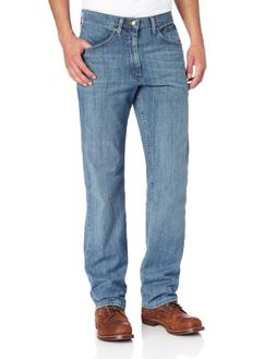 Lee Men's Premium Select Classic Fit Straight Leg Jean, Mojo