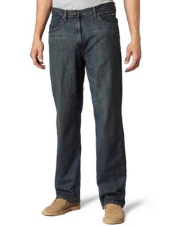 Lee Men's Premium Select Relaxed Fit Straight Leg Jean, Roun
