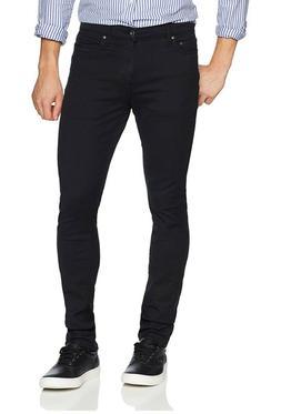 Goodthreads Men's Skinny-Fit Jean, Black, 38W x 32L