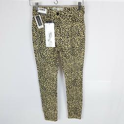 Rewash skinny pants leopard print size 1R hi rise jeggings 2