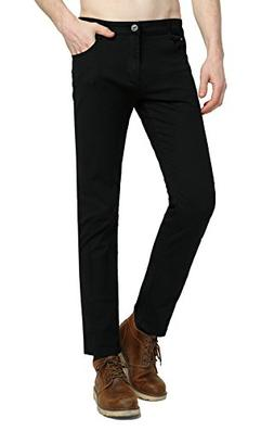 Hochock Men's Skinny Stretch Elastic Jeans Slim Fit Comfy Fa
