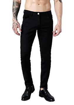 ZLZ Slim Fit Jeans for Men Super Comfy Stretch Skinny Straig