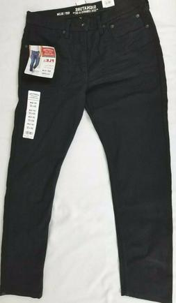 Signature by Levi Strauss & Co Men's Slim Straight Jean, Wri
