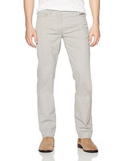 Calvin Klein Men's Slim Straight Stretch Calvary Pant, Glaci