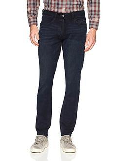 Calvin Klein Men's Straight Fit Denim Jean, Monarch Blue, 34