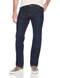 7 For All Mankind Men's Standard Straight Leg Jean, Forfeit,