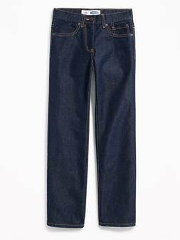 Old Navy  Straight Rigid Jeans for Boys Size 14 Color Dark W