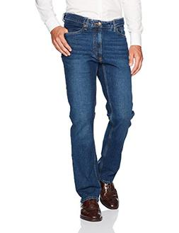 Haggar Men's Stretch Comfort Denim Expandable Waist Relaxed