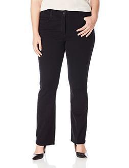 stretch mini bootcut jeans