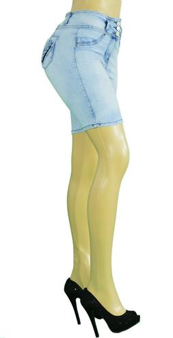 Stretch Push-Up colombian style Levanta Cola skinny jeans in