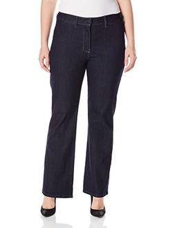 Plus Size Women's NYDJ 'Isabella' Stretch Trouser Jeans, Siz
