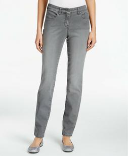 Style & Co. Curvy-Fit Skinny Jeans, Whisper Grey , Size 16 2
