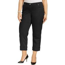 Style & Co. Womens Denim Cuffed Capri Jeans BHFO 4170