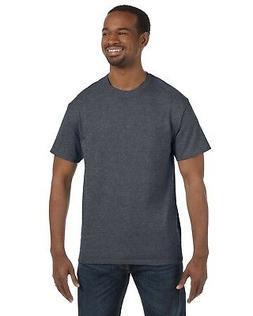 Hanes T-Shirt Men's Short Sleeve 6 oz Tagless Basic 5250T Me
