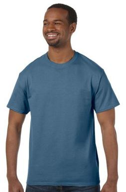 Hanes - 6 oz. Tagless T-Shirt >> M,DENIM BLUE