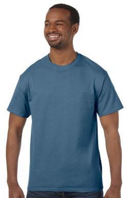 Hanes - 6 oz. Tagless T-Shirt >> M,DENIM BLUE