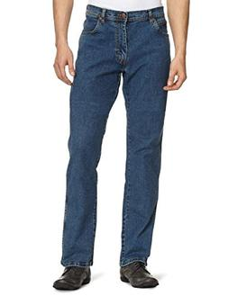 Wrangler Men's Texas Stretch Denim Jeans Stonewash 44W X 36L