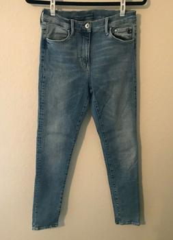 Topshop Motto Womens 311 Shaping Skinny Mid Rise Stretch Den