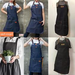 Vintage Jean bib Apron men/women for work/cooking/cute dress